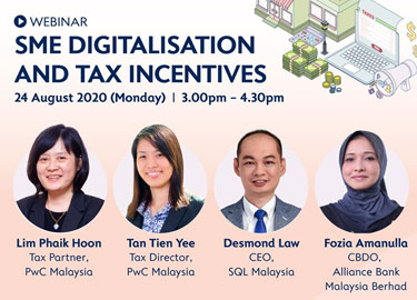 SME Digitalisation and Tax Incentives